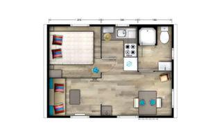 Mobil-home Solo - Plan
